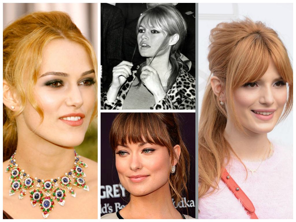 the best ponytail for your face shape the best ponytail for