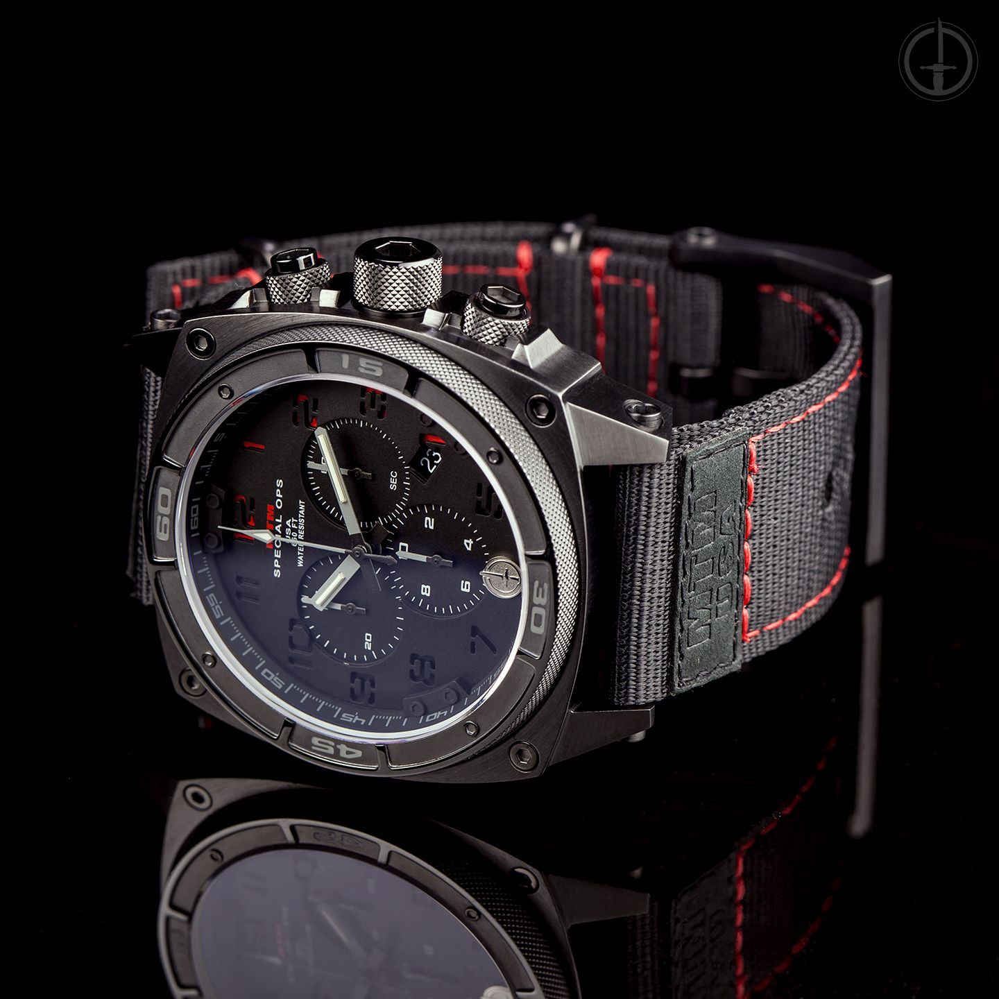 chronograph ii quartz watches jewelry predator mtm pin