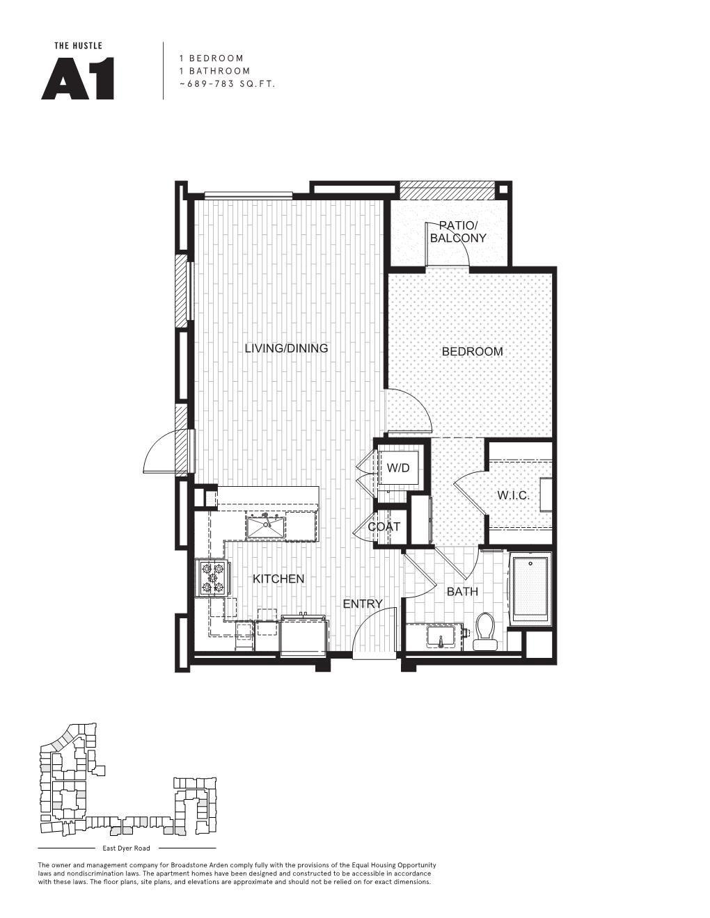 3 Bedroom Apartments In Orange County: Floor Plans, Apartment Floor Plan, One
