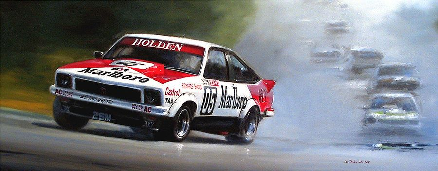 Nissan Became A Dominant Force In Australian Touring Car Racing In The Rsquo 80s With Their Bluebirds And Took It Motorsport Art Racing Art Touring Car Racing