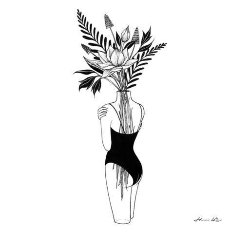 Fragile Art Print- Henn Kim   Art drawings, Art, Line art