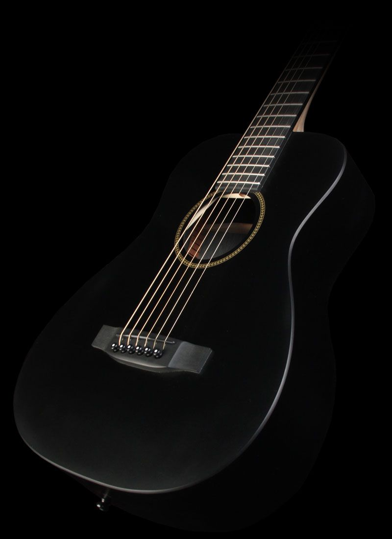 Martin LX Black Little Martin Acoustic Short Scale Guitar