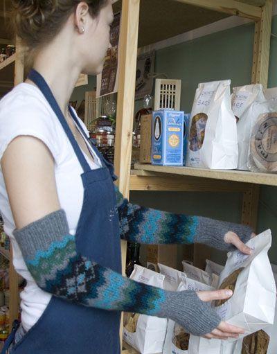 Nederland Opera Mitts Free Argyle Knitting Pattern Fingerless