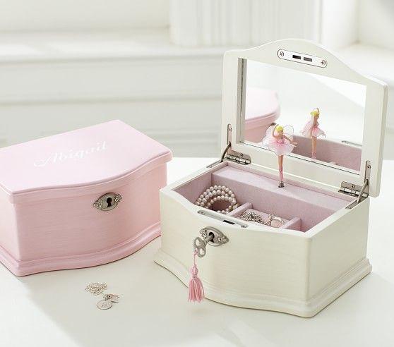 Abigail Medium Jewelry Box | Pottery Barn Kids--every girl needs a jewelry box & Abigail Medium Jewelry Box | Pottery Barn Kids--every girl needs a ... Aboutintivar.Com