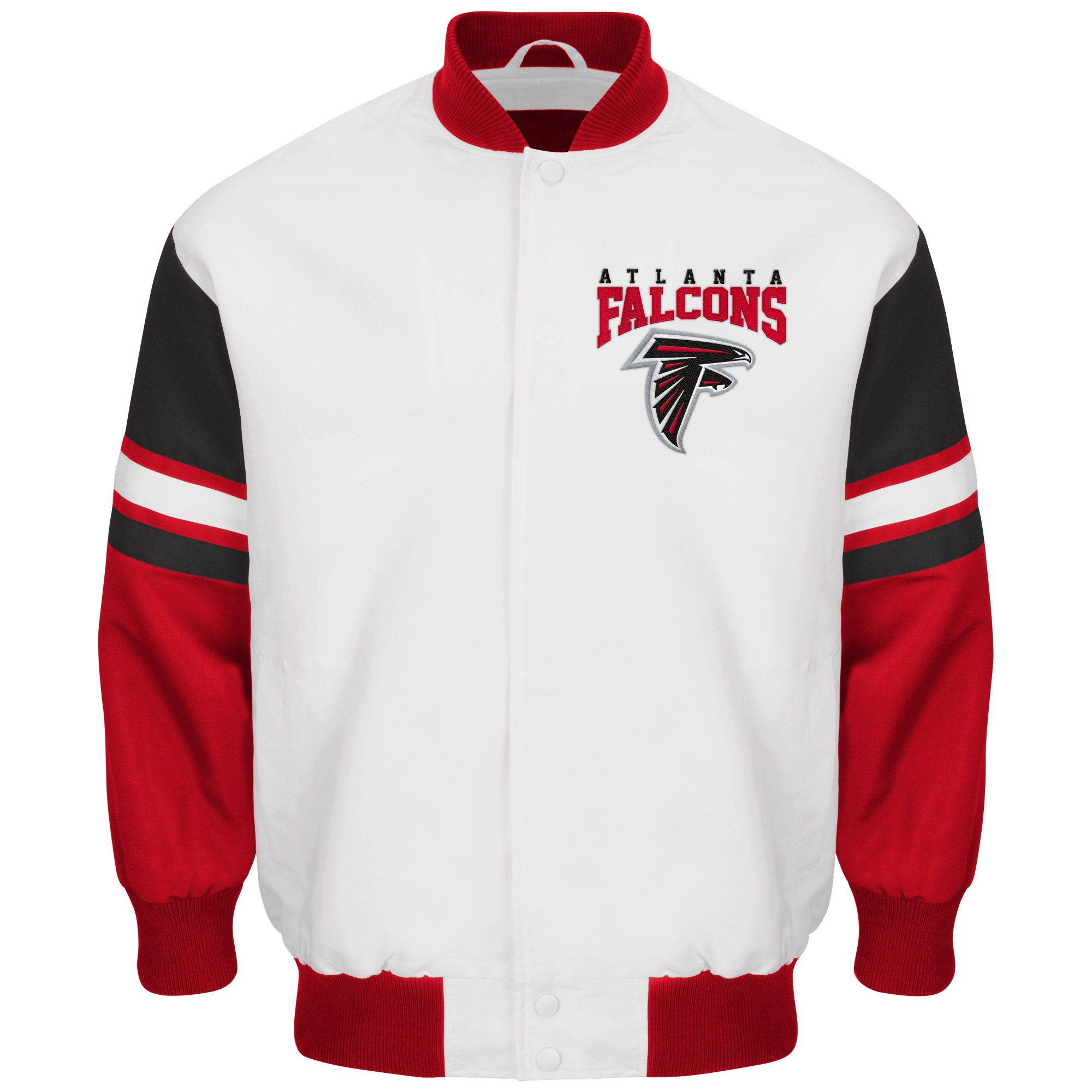 Nfl Atlanta Falcons G Iii Extreme Interceptor Sublimated Jacket White Carolina Panthers Jacket Carolina Panthers Carolina Panthers Football
