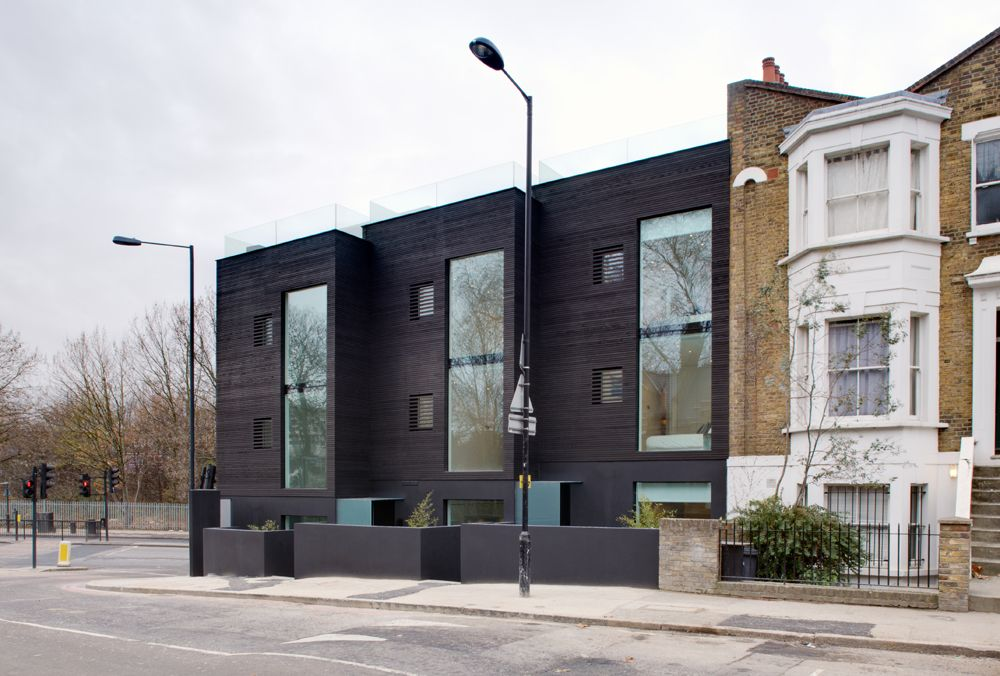 Modern interpretation of victorian architecture google for Terrace house 1