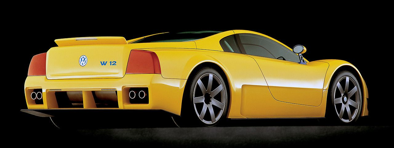 Volkswagen W12 Syncro Coup Study 1997 Designed By Giorgetto