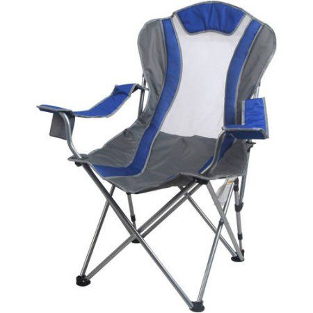 Ozark Trail 2 Position Reclining Chair Blue Camping Chairs