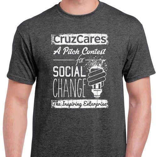 5741d884 Create a trendy tshirt design for a Santa Cruz pitch contest for social  ventures. #tshirtdesign