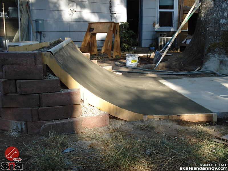 how to build a skate ramp in your backyard