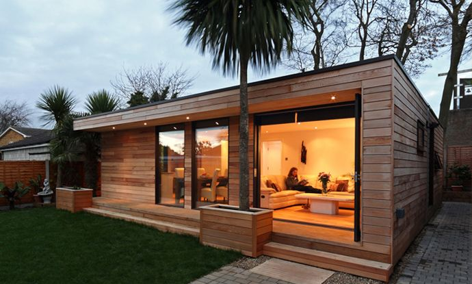 Modern and Eco friendly Garden Office An Ideal Solution to