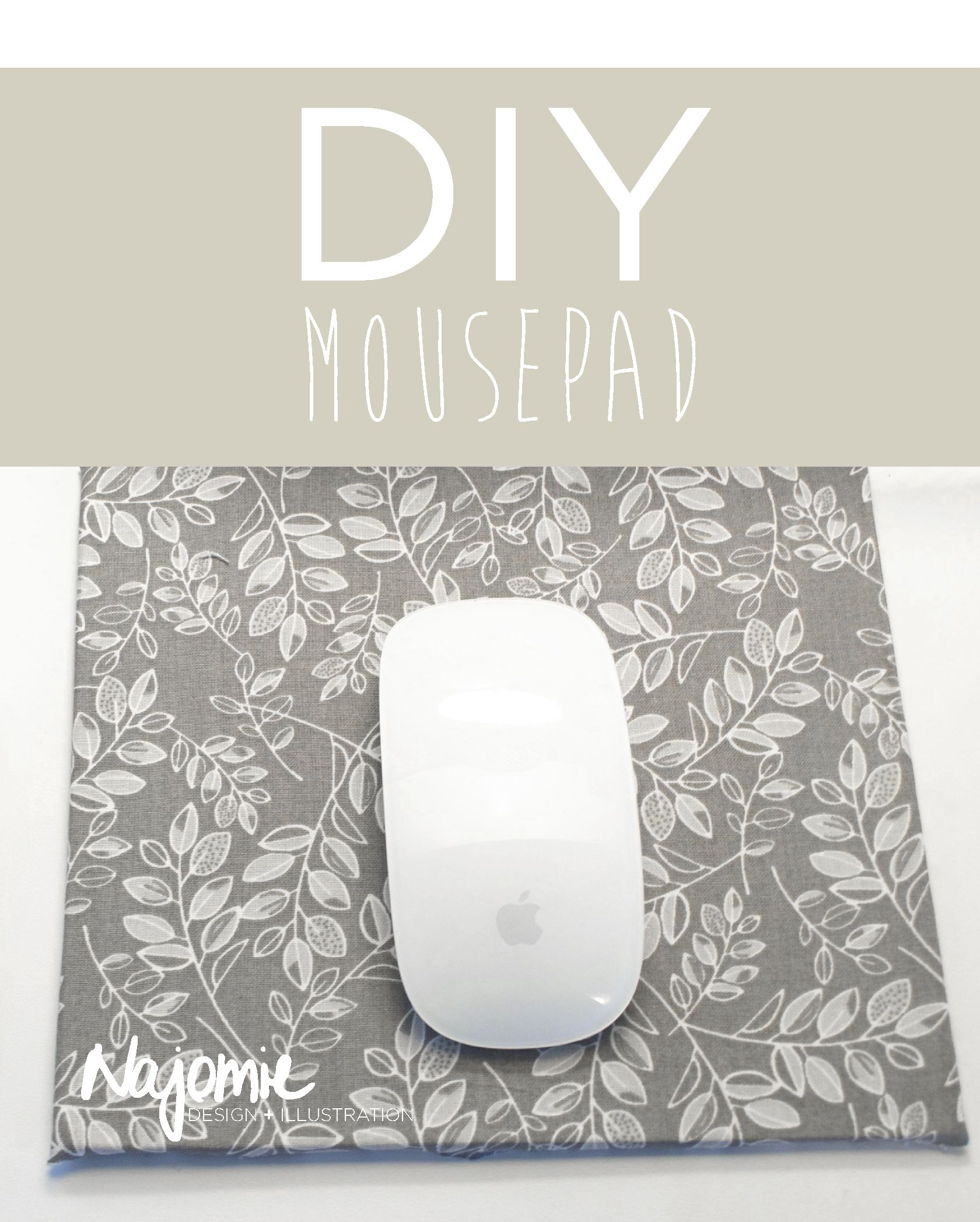 Diy Mouse Pad Ideas How To Make For Men Budget Tutorials Easy
