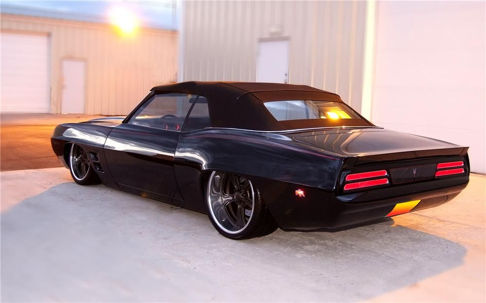 1969 PONTIAC FIREBIRD TRANS AM CUSTOM CONVERTIBLE - Barrett ...