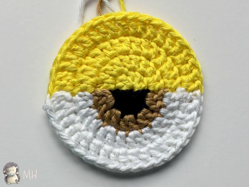 ojo de gorro Minion a crochet | tutoriales | Pinterest | Ojos ...