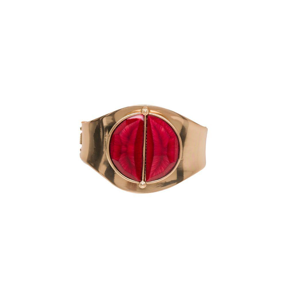 I love the Carol Dauplaise Faceted Stone Bracelet from LittleBlackBag