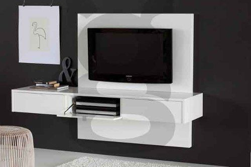 Mueble Panel Lcd   Tv   Led - Modular - Mesa De Tv Flotante Vip