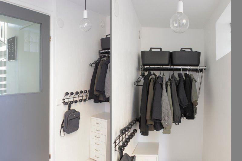 IKEA hack clothes rack