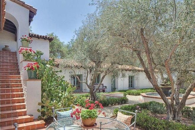 Paul williams designed spanish style home house of the day wsj also rh pinterest