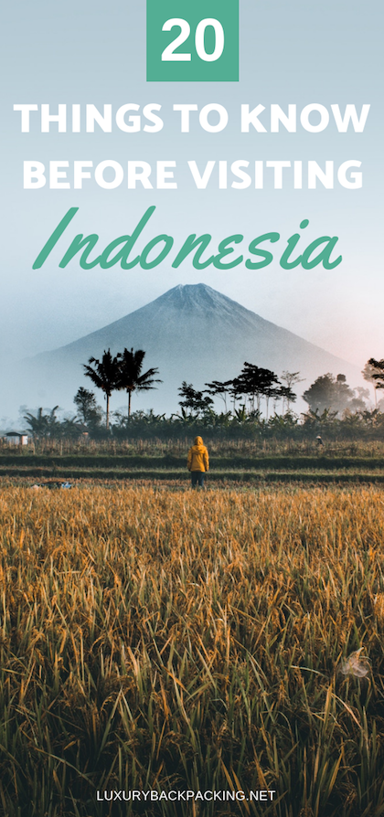 20 Things To Know Before Visiting Indonesia – Luxurybackpacking