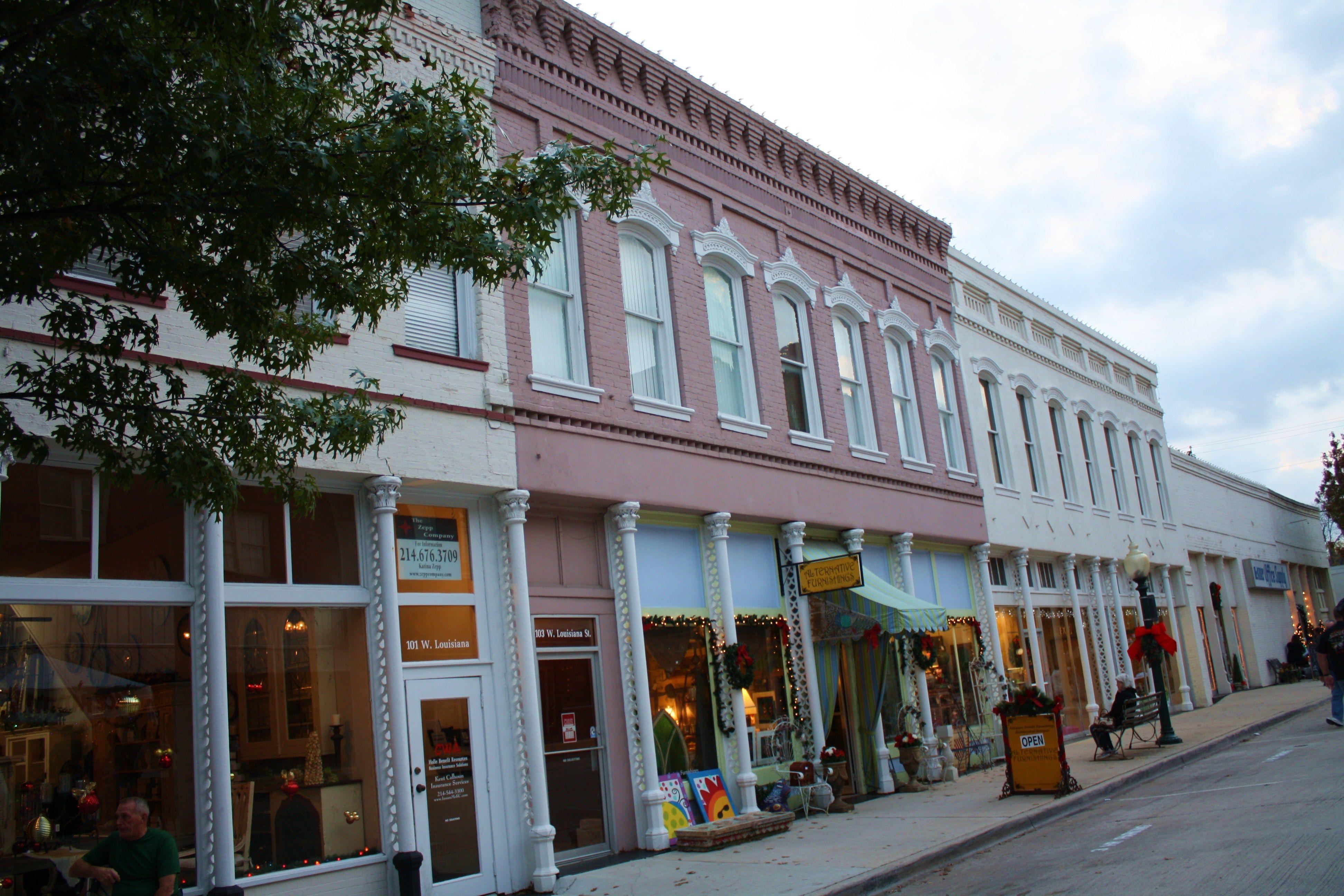 Downtown Mckinney Texas Adventure Shopping Texas Travel Vacation Trips