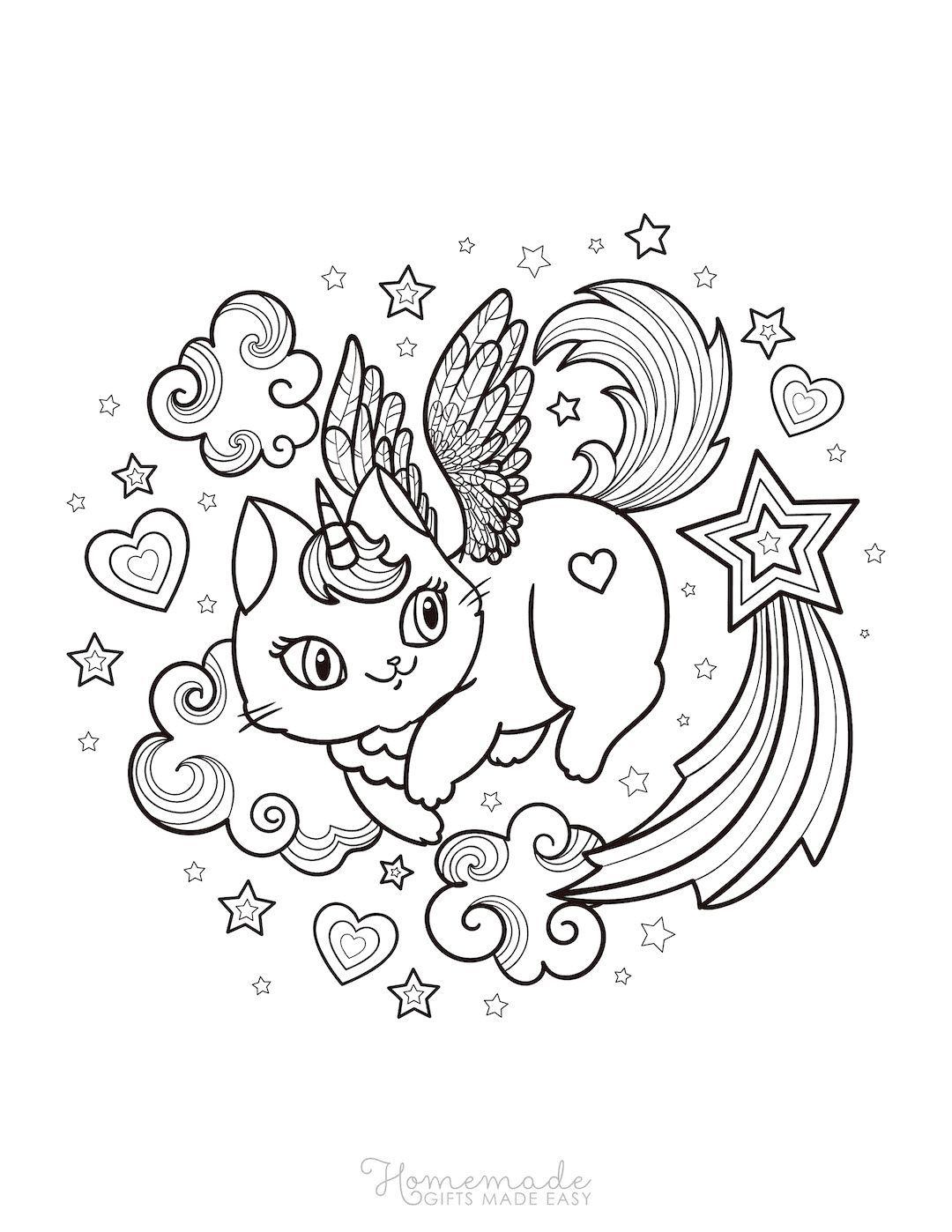 75 Magical Unicorn Coloring Pages For Kids Adults Free Printables Unicorn Coloring Pages Star Coloring Pages Coloring Pages