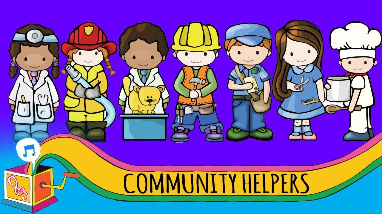 hight resolution of community helpers nursery rhyme animated karaoke