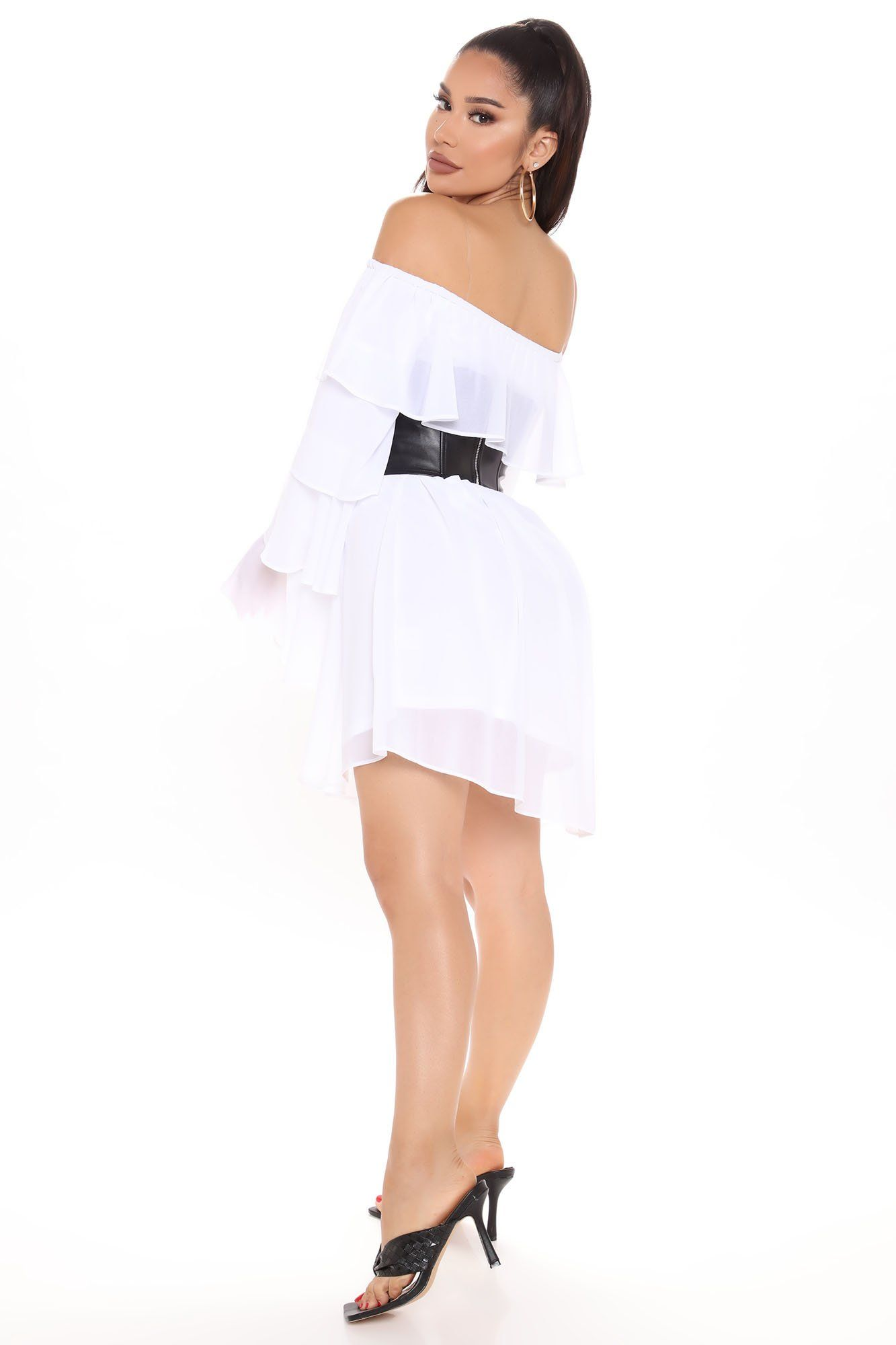 Second Chance Corset Mini Dress White Black In 2021 White Mini Dress Mini Dress Woman Suit Fashion [ 2000 x 1333 Pixel ]
