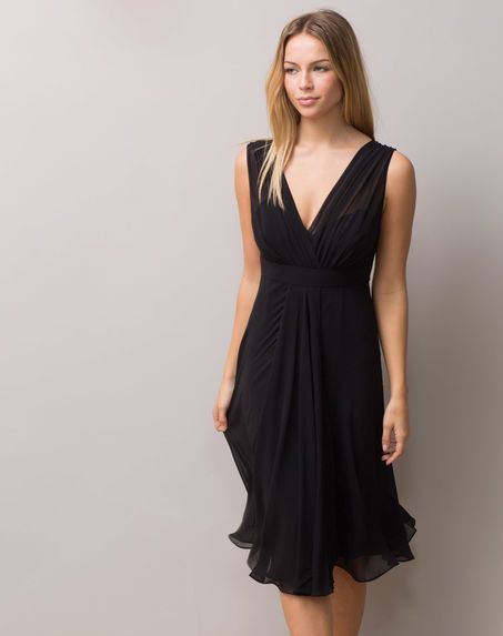 robe taille empire femme