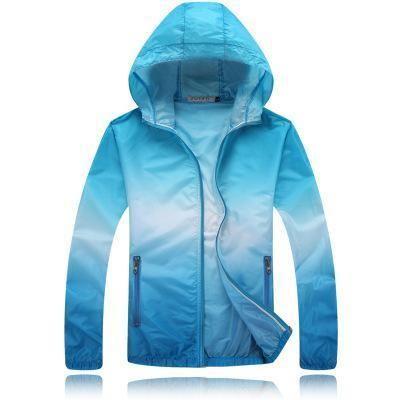 Jacket Coat Mens Thin Zip Up Hooded Tops Men/'s Casual Hoodie Outwear Quick Dry