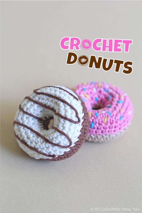 Diy Donuts Free Pattern Granny Crochet Pinterest Häkeln