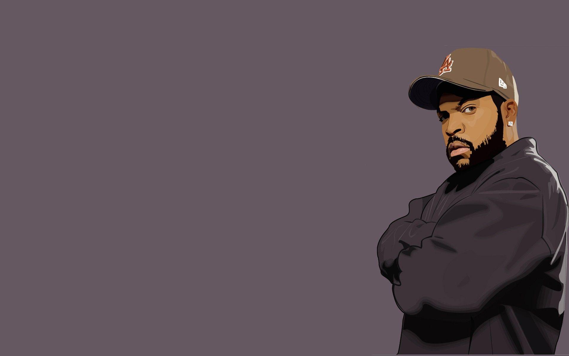West Coast Og Ice Cube Rap Hip Hop Background