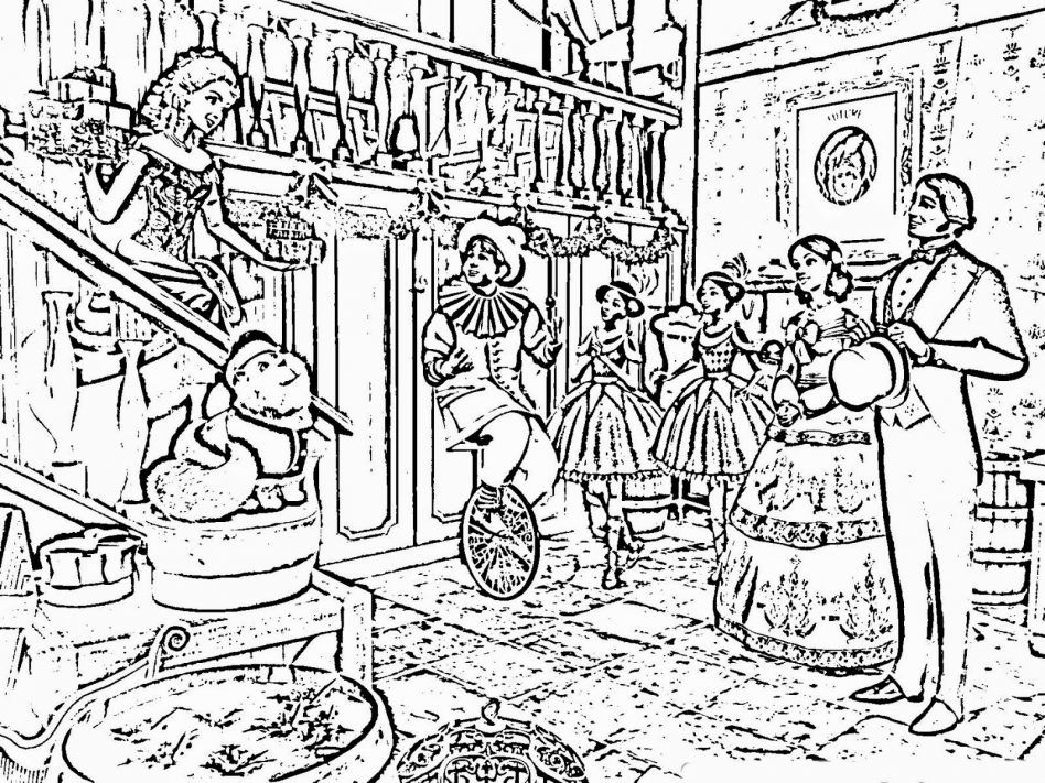 Victorian christmas coloring pages murderthestout for Victorian christmas coloring pages