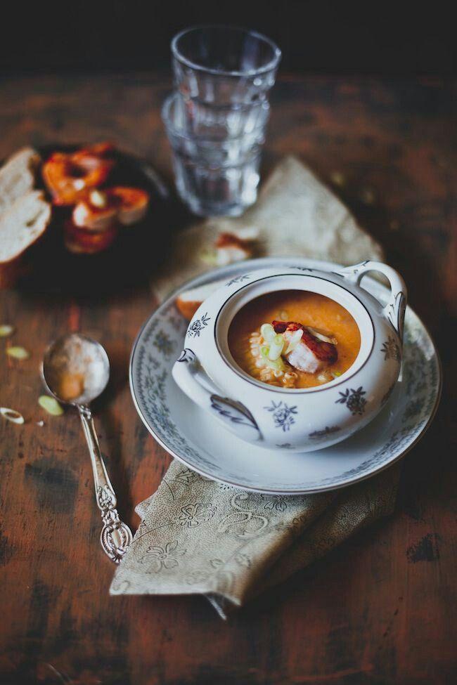 Épinglé par sonia DZ😘 sur ♥Soupe♥ | Cuisine, Nourriture, Idée recette