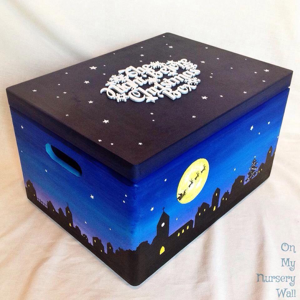 Christmas Eve Box Christmas Woode