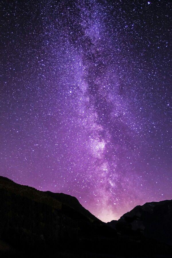 Beautiful  amazing landscape paisajes Morado Star