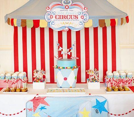 organiza un cumpleaos infantil en el circo