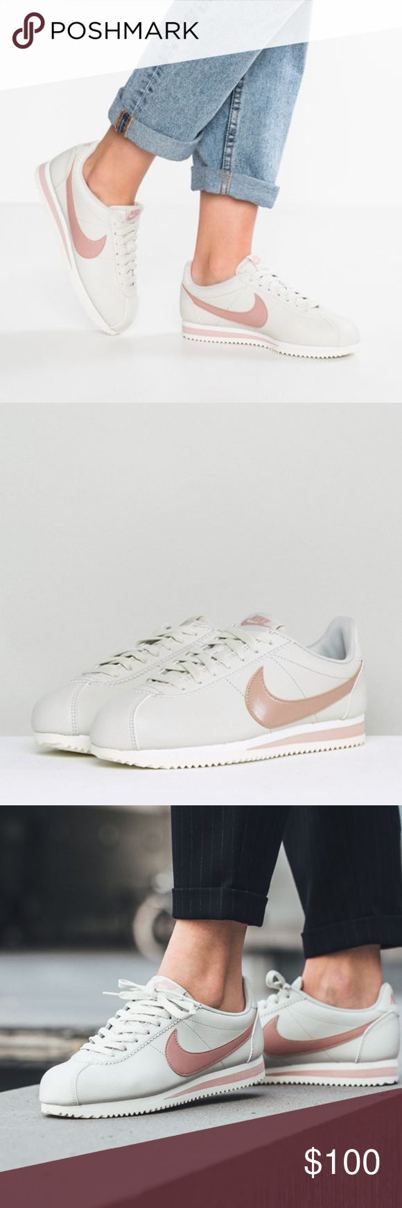 Pin by margaux bourelly on chaussures | Pinterest | Nike classic cortez  leather, Nike classic cortez and Classic cortez