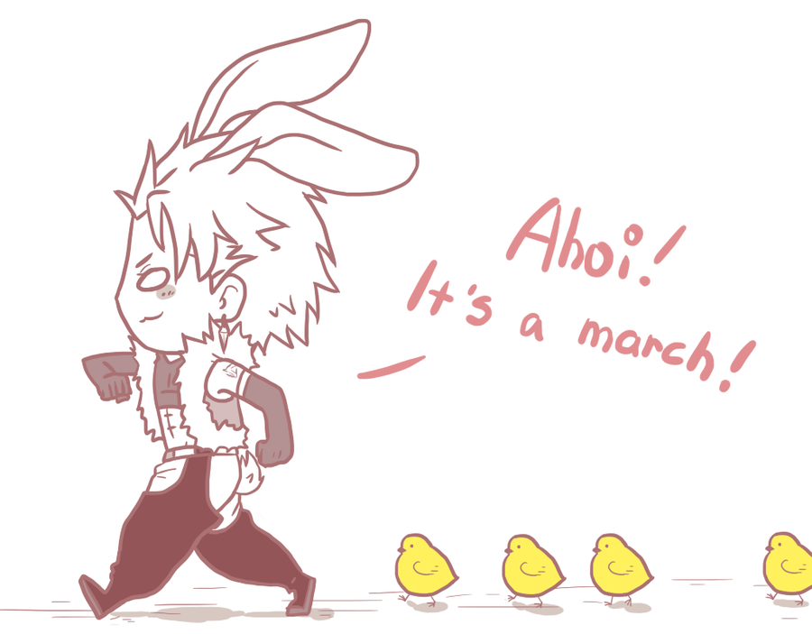 easter march by hyokka