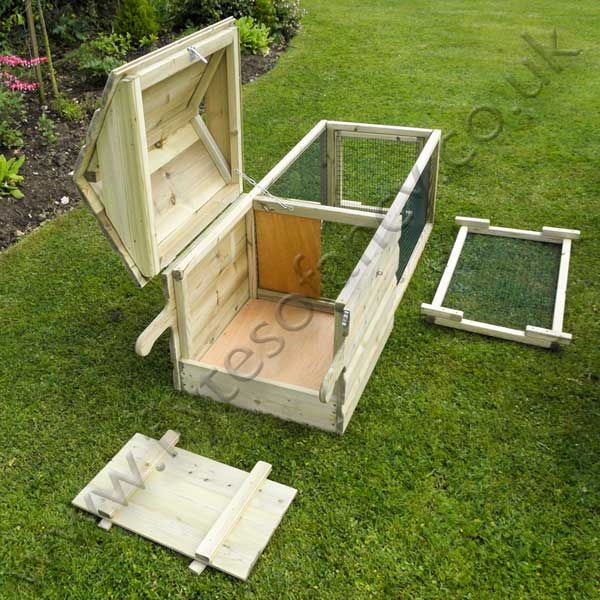 Small broody chicken coop chicken coops with run for Small chicken coop with run