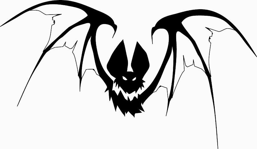 летучая мышь рисунок — Рамблер/картинки | Хэллоуин летучие мыши ...