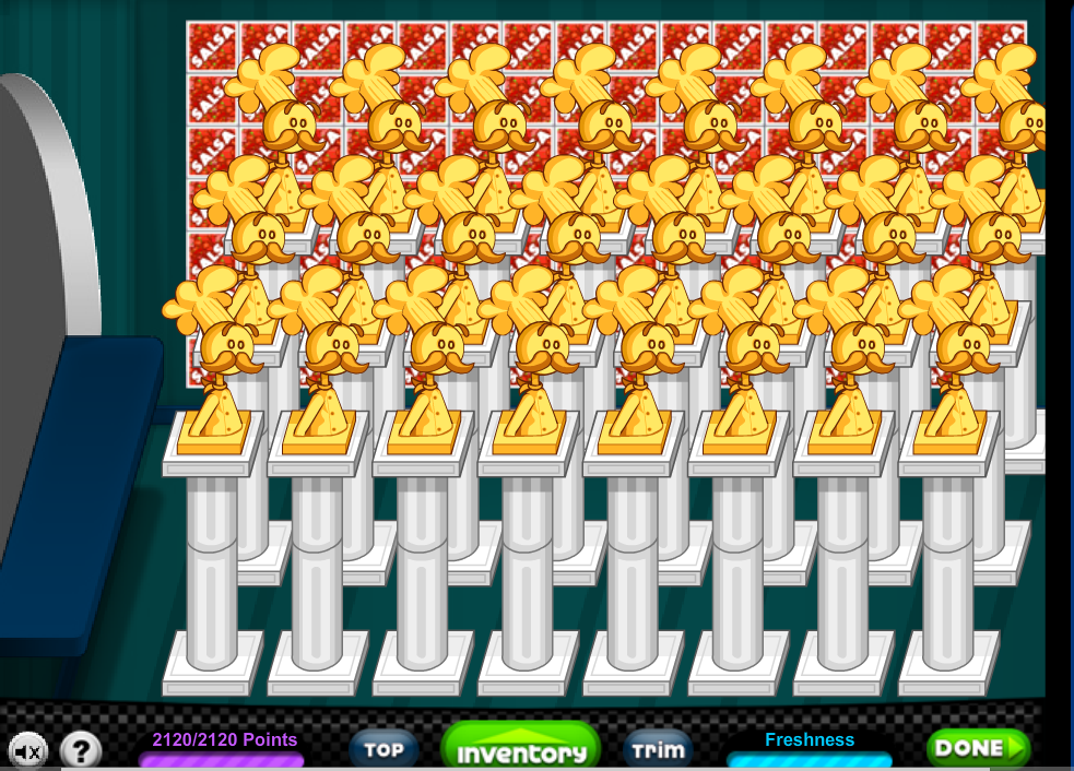 Here is my new Papa's Hot Doggeria lobby layout. It is the highest ...