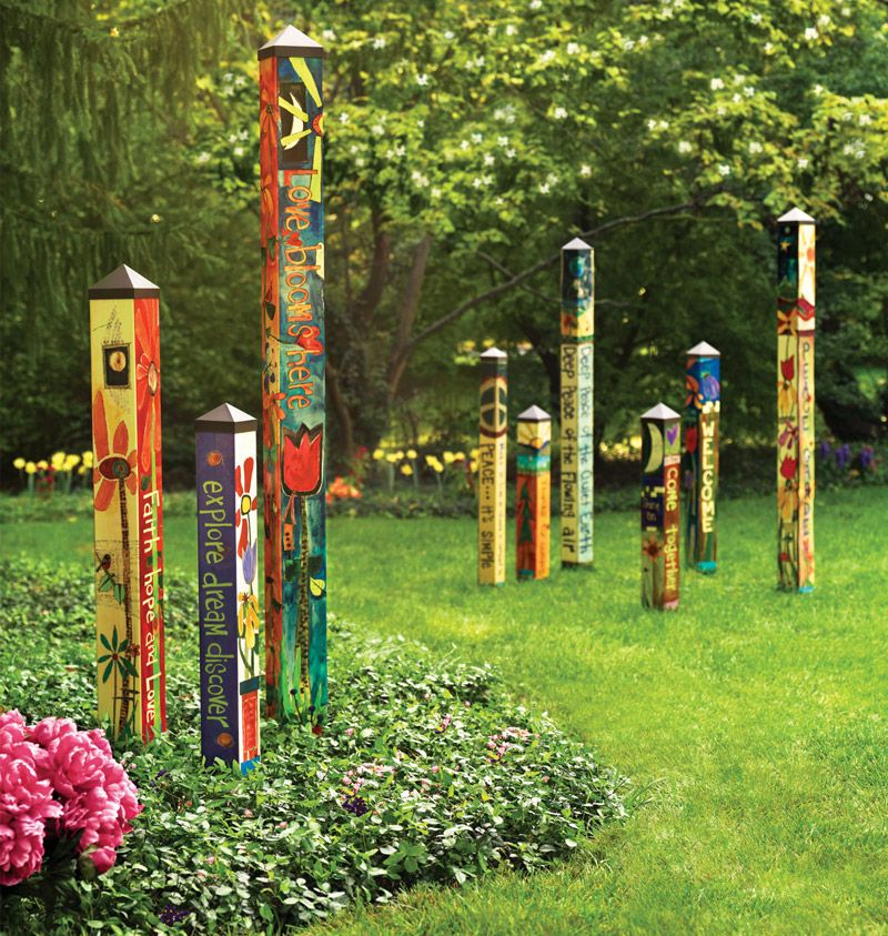 1000 images about Peace Poles Painted Peace Art Poles on