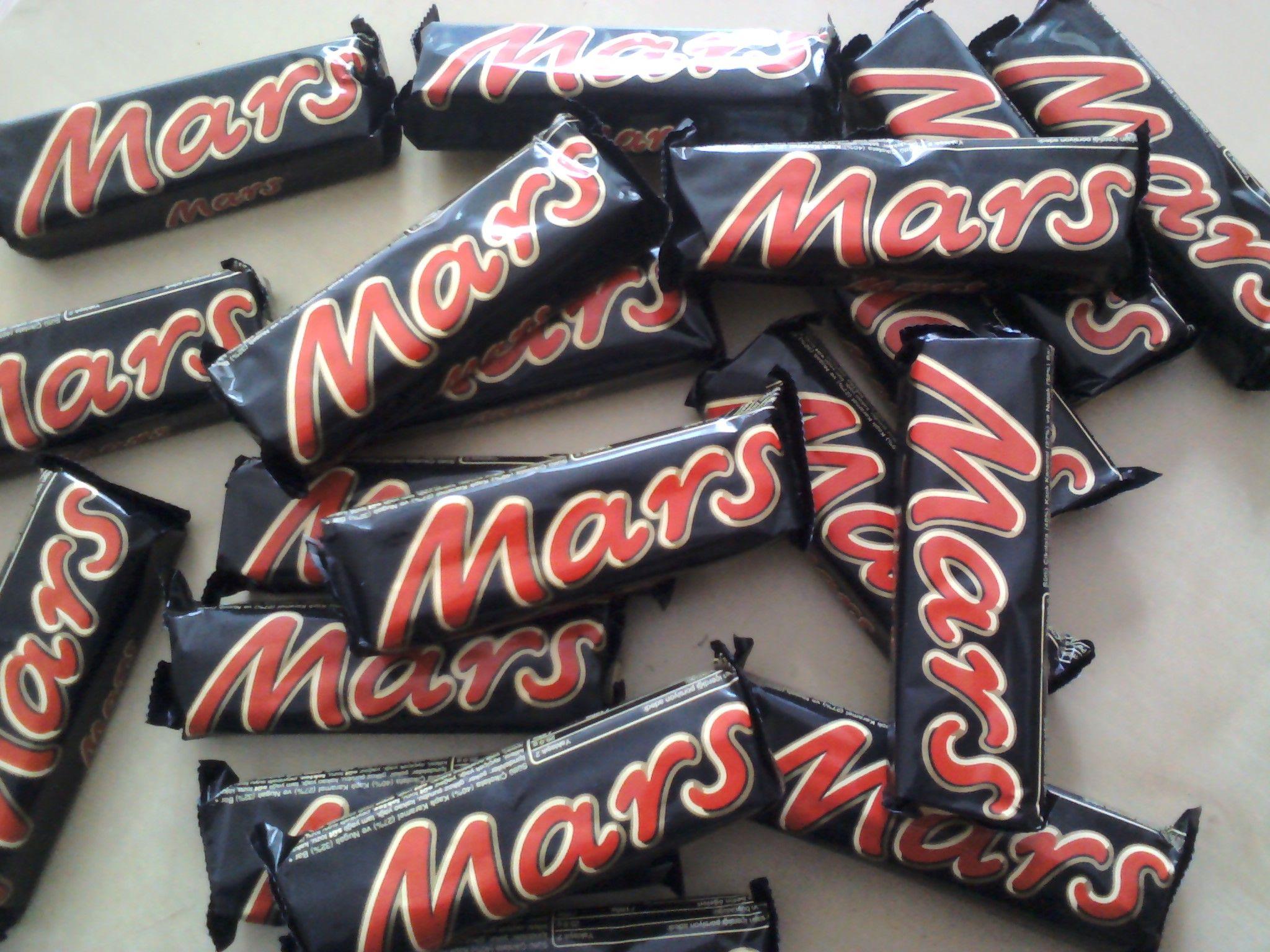 Mars - nuga ve karamel bir çubuk