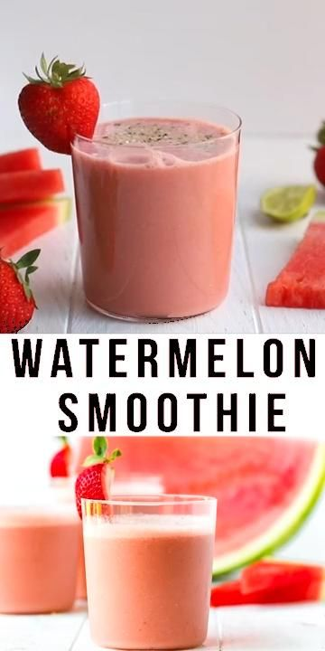 Photo of EASY WATERMELON SMOOTHIE