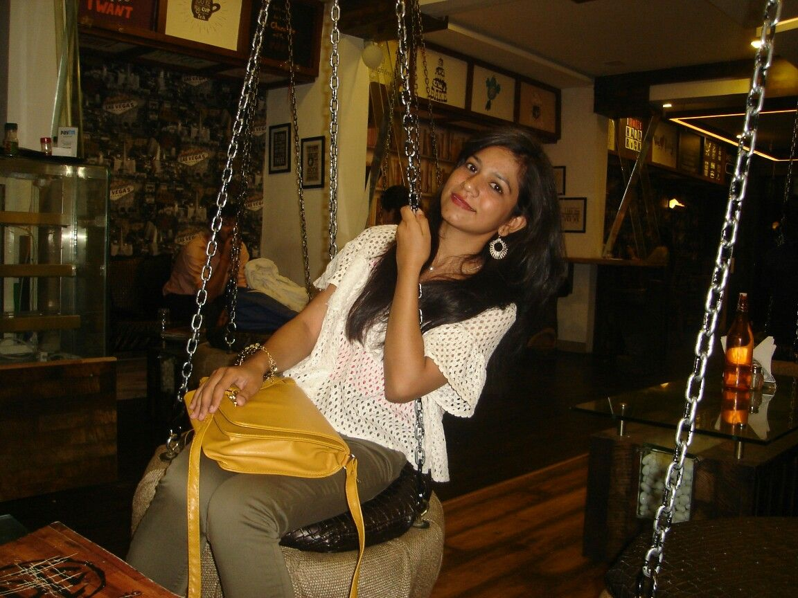Smile Down Town Cafe Indore Porch Swing Indore Abs