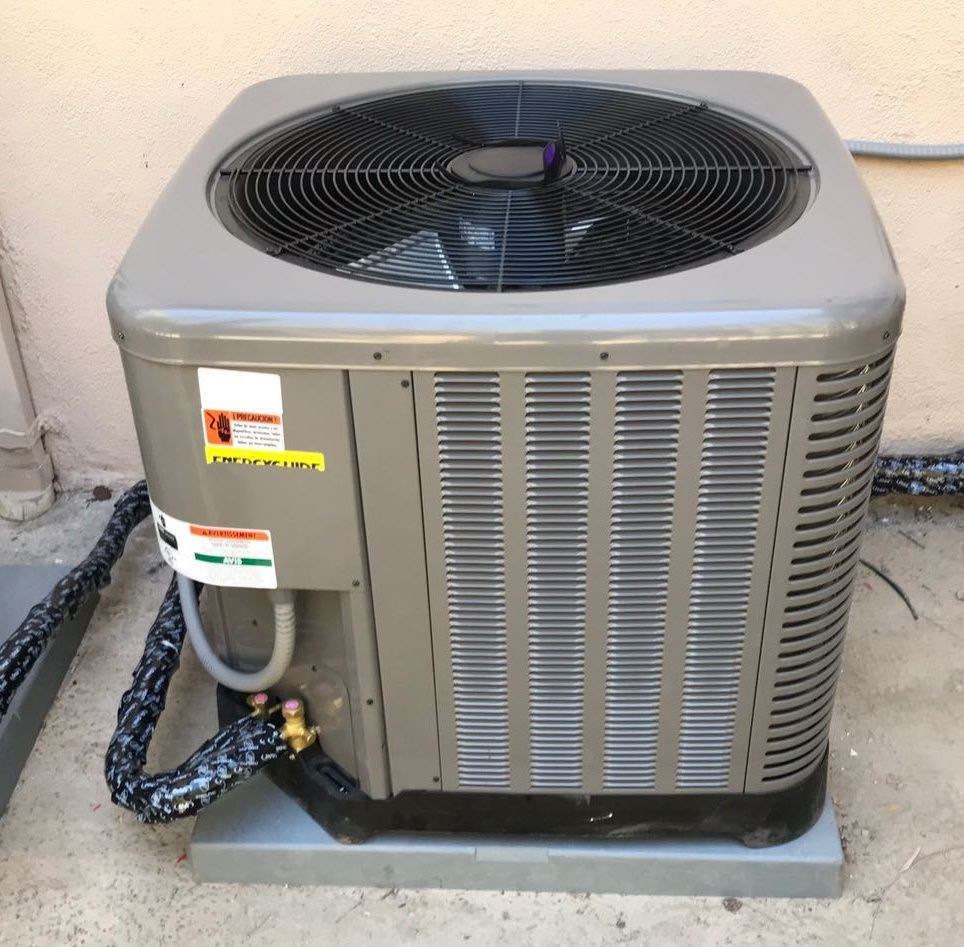 heating and air conditioning instillation service