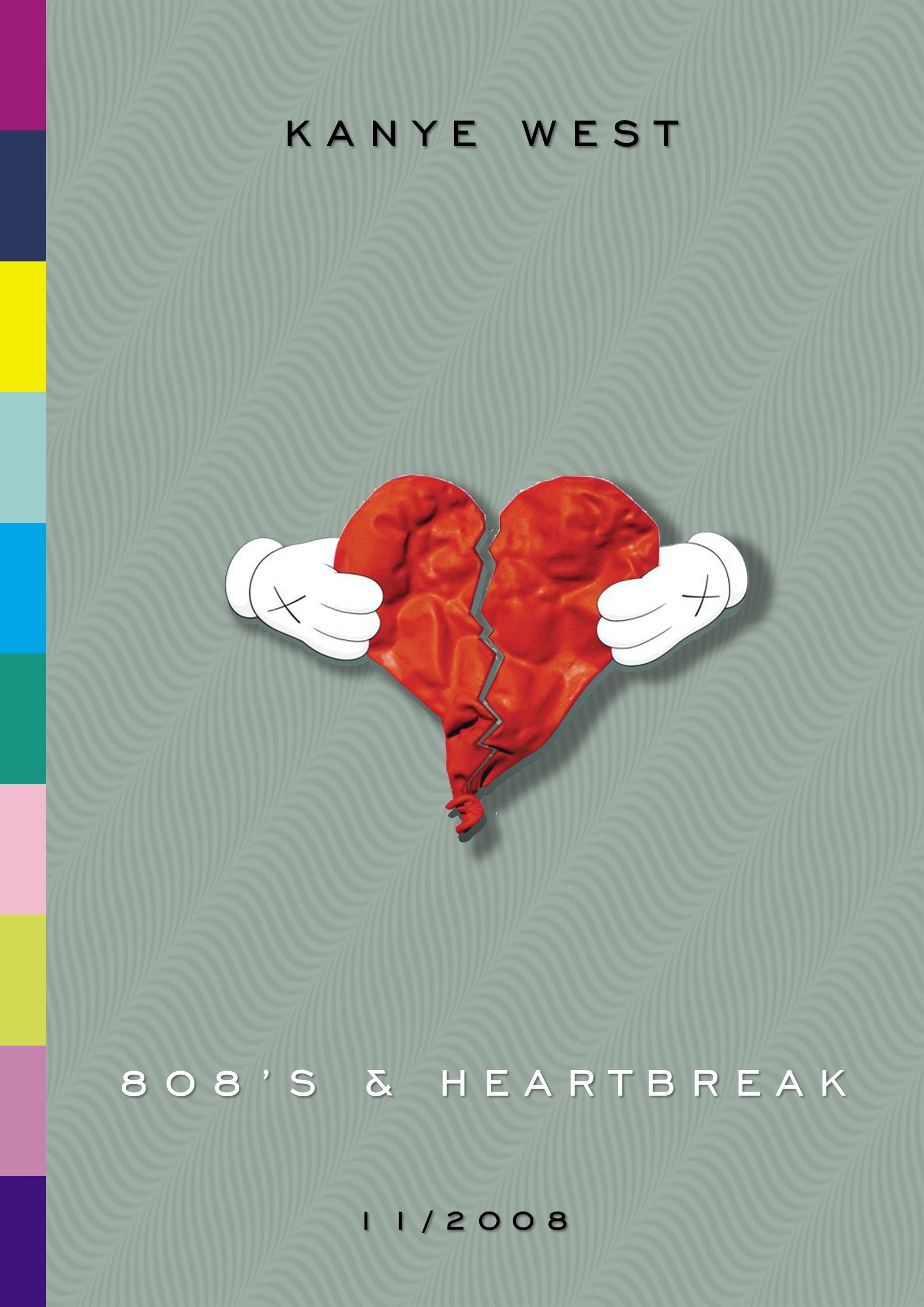 Kanye West 808 S And Heartbreak Poster Etsy In 2020 808s Heartbreak Heartbreak Art Heartbreak