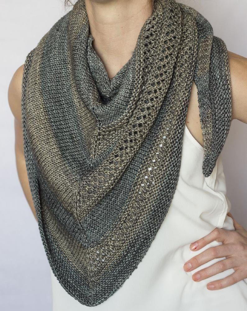 Gideon | Knit patterns, Shawl and Yarns
