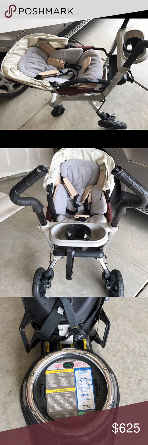 Orbit G2 Stroller travel system with car seat Used but in