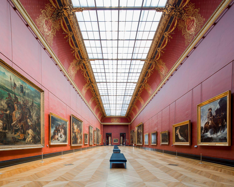 Pin Caroline Turner Musee Du Louvre Paris